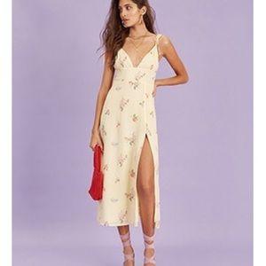 NWT Floral Midi Dress